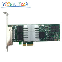 EXPI9404PT 10/100/1000Mbps 4-Port RJ45 PCI-E Network Adapter