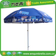 Arc diameter 240CM large size uv protection strong sun umbrella