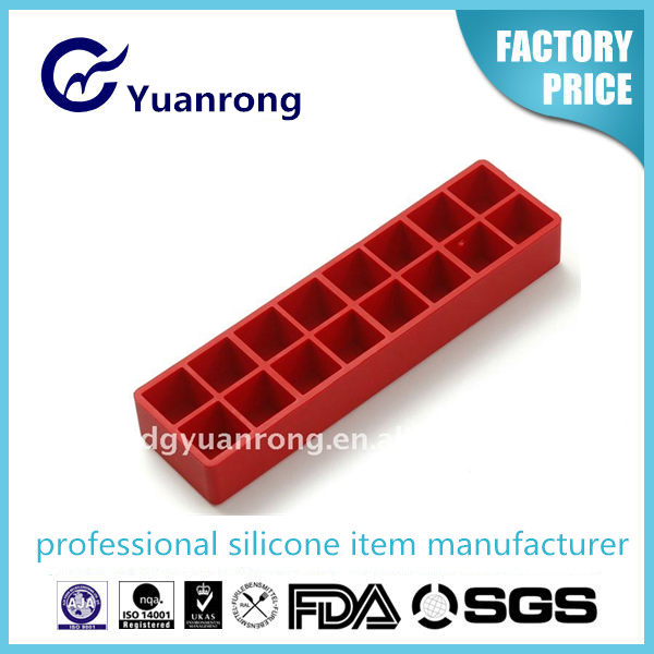 Eco-friendly Silicone Ice Cube Tray Factory with Chemical Laboratory
