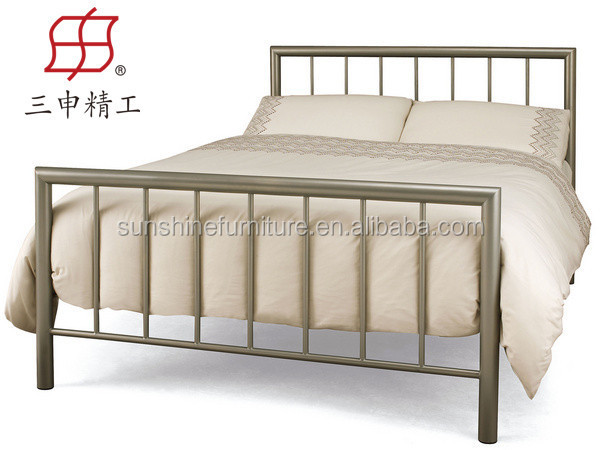 2015 hot sale high quality cheap antique wrought iron bed for High beds for sale