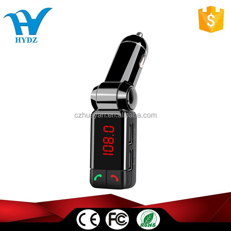 Bluetooth Wireless Kit Car Mp3 Player Fm Transmitter wireless USB Car Charger