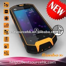 Manufacture Military Level Runbo X5 IP67 Waterproof Smart Phone with Walkie-Talky Interphone