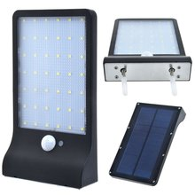 42 LED waterproof outdoor solar motion sensor security light for garden lighting