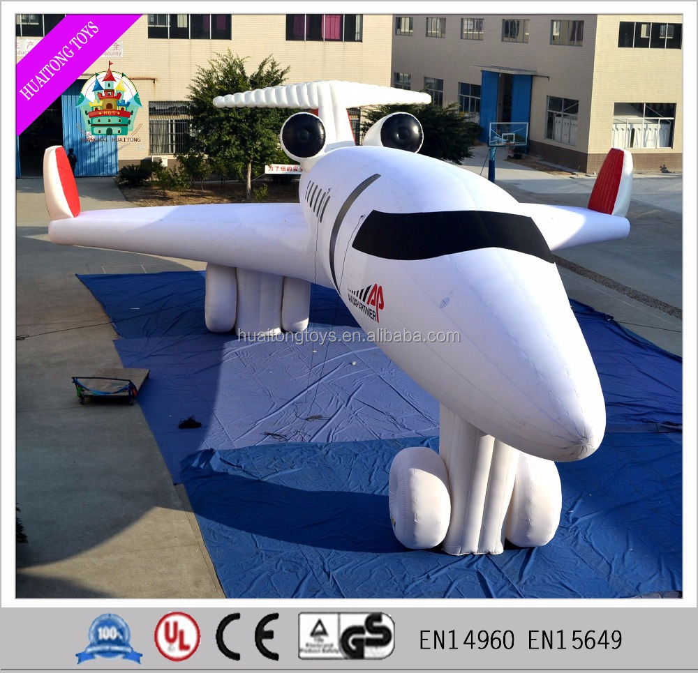 2016 inflatable aircraft outdoor show inflatable plane model, inflatable advertising aircraft