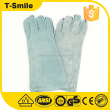 denim fabric liner on fingers labor machinist hand protector working gloves for hardware industrial use