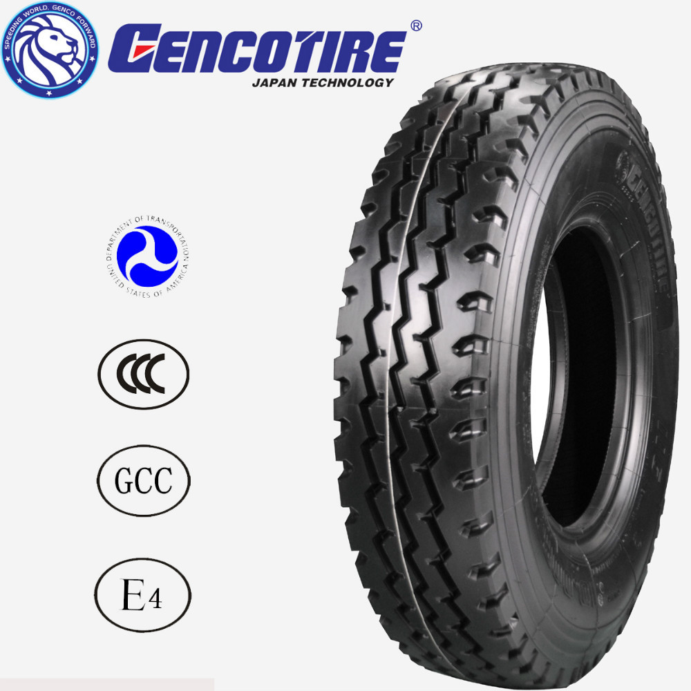 Duty radial trucks tires tyres,Japan technology and cheap price from GENCOTYRE 1000r20 1000-20 1000*20