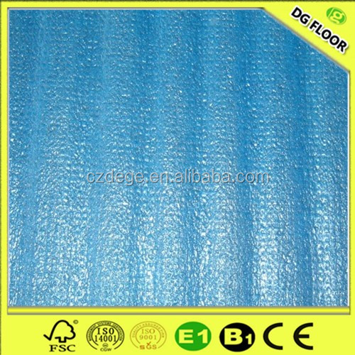 Soundproof Waterproof Floor Underlayment 2mm 3mm