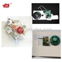 Small audio recording voice recordable chip for gifts cards and toys