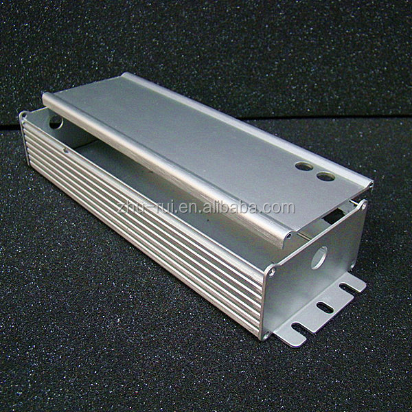 Aluminum Extrusion Enclosure for Electronic LED powder supply enclosure electrical control enclosure