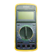 DT9205A digital test electrical switch multimeter