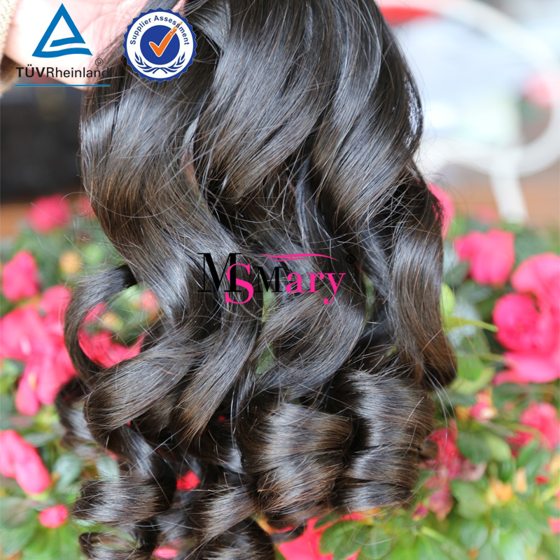 Buy Human Hair Online Cheap Wet and Wavy Temple Indian Remy Hair