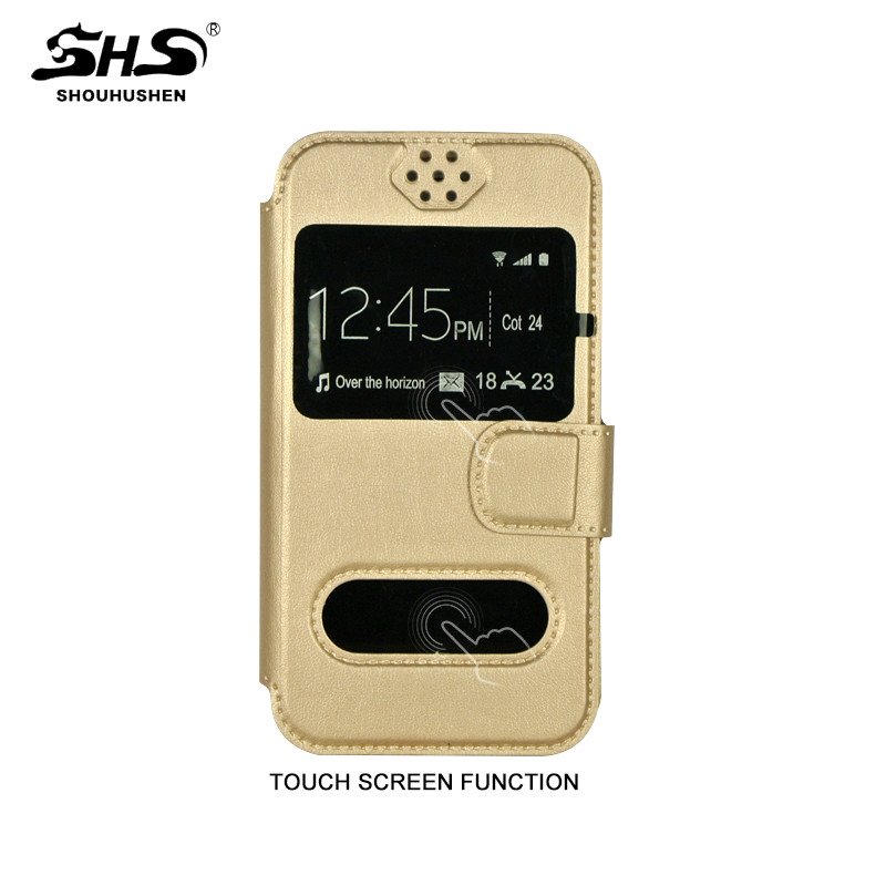 SHS Phone Accessories Silicone+PU Leather Case for Samsung Galaxy S7 Edge