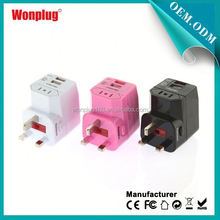 2014 High quality best selling most popular uk bs 5733 travel adapter