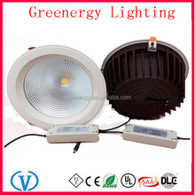 "Pure white Cold White Warm White day White AC85-265V 60W Dimmable 10"" 10inch led recessed light"