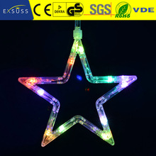 Battery Operated LED Christmas Curtain Iclicle Lights yellow led light curtain