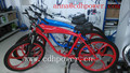 2.4L 3.75Lgas tank built bike with mag wheel/complete bike for sale/colorful bike