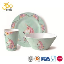 Wholesale Royal Microwave Safe Karachi Pakistani Melamine Dinner Set In India