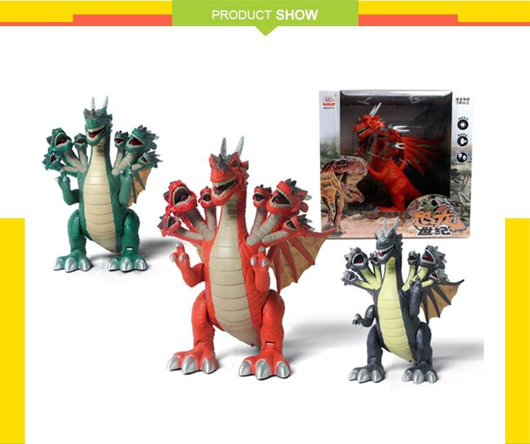 china factory plastic kids battery operated dinosaur toys with high quality