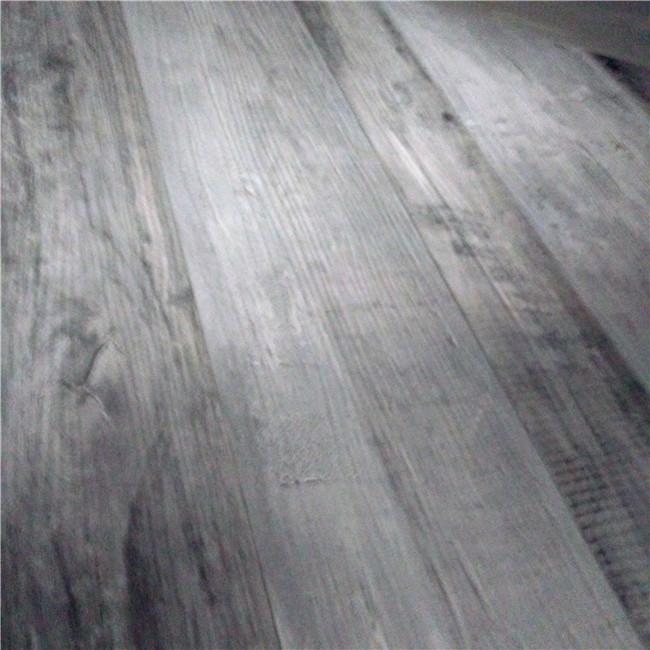 Indoor Pvc Marble Vinyl Flooring Click Tile With Wood Embossed