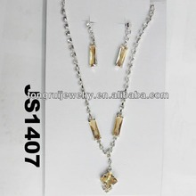 fashion american uncut diamond necklace sets