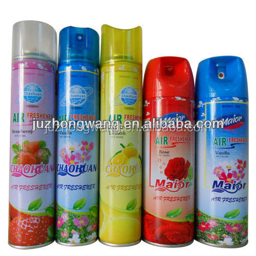 Water-based good smell 300ml can air freshener wtih cheapest factory price