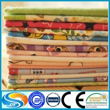 100 % cotton 2015 new design 150gsm baby flannel fabric for baby bedding sets flannel fabric