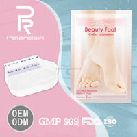 Amazing Plus foot care silky foot mask remove foot dead skin