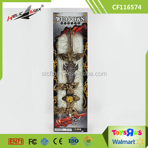 Cool Gift Cosplay Medieval Kids Toy Sword for Boys