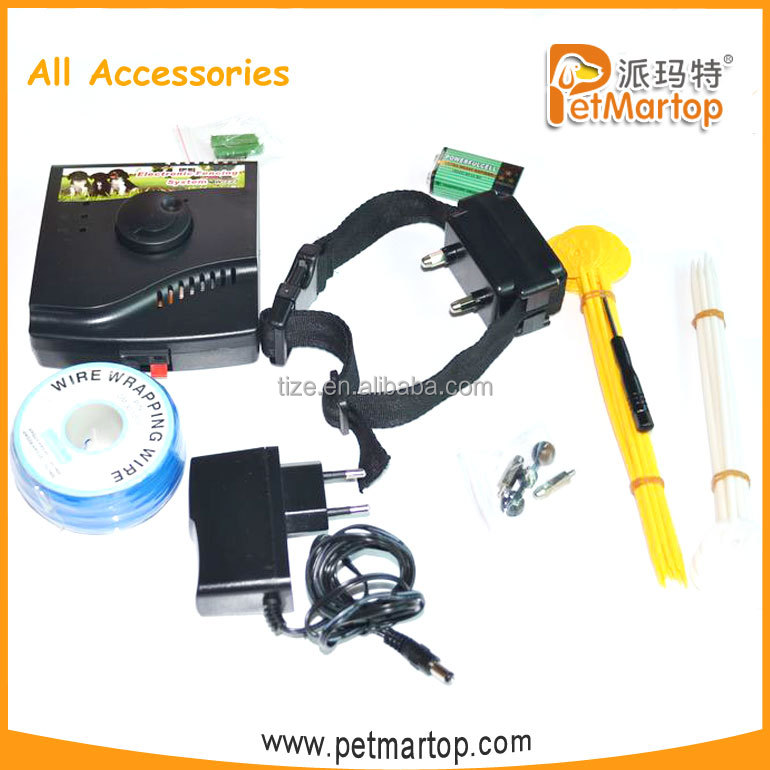 2016 Hot TZ-W227 Electronic Pet Fencing System with Waterproof Collar