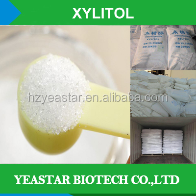 Providers supply low price sweetener xylitol powdered