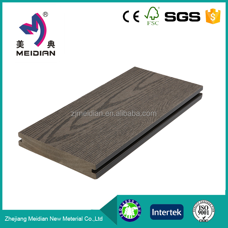 Lower Price plank wood plastic decking