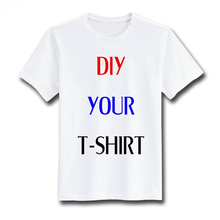 Photo/Logo/Text Printed DIY Custom T-shirts Men Women Kids Personalized Team Family Customized Promotion AD Apparel Camisa Tees