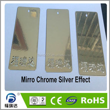 Plastic powder mirror chrome silver effect powder coating <strong>paints</strong>