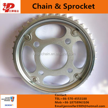 1045 steel CG125 motorcycle chain and sprocket kits 44/14T 428h-116L