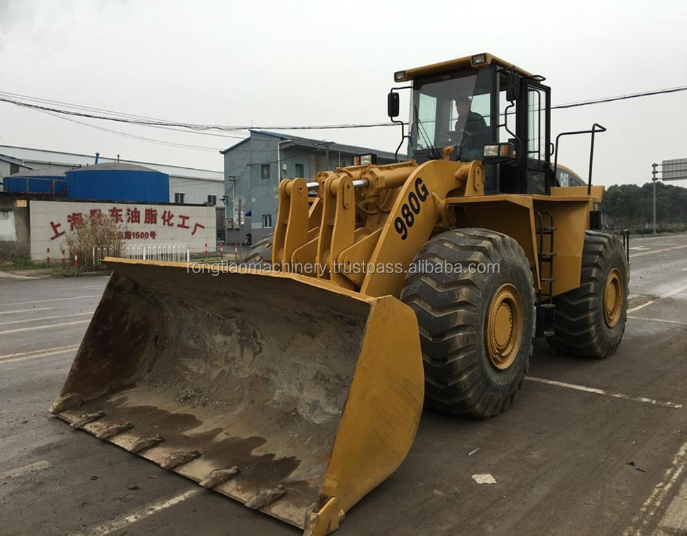 Good quality used caterpillar wheel loader 980G for sale/ cat loader with low price