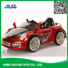easy 6V kids electric ride on cars with opening doors