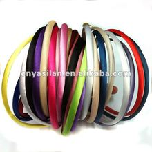 Fashion Satin Covered Plastic Headband For Women YL02137-A