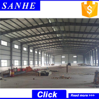Good factory workshop design steel structure warehouse drawings