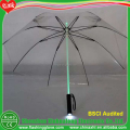 Newest glow in the dark umbrella led