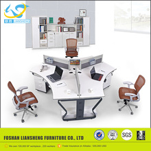 Simple design office low partition products, modern call center furniture