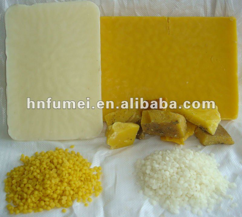 cosmetic grade yellow beeswax pellets