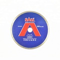 "The best selling 4"" dry turbo diamond cutting saw blade cutting marble"