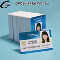 Made in China CR80 Blank Inkjet PVC Printing Card For business card