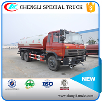 Dongfeng 6*4 210hp 16000l Water Tank Truck Manufacturer