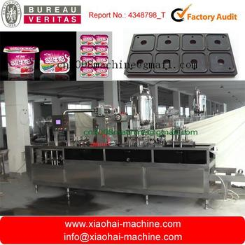 yogurt cup thermoforming machine