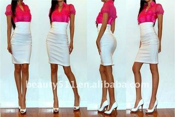 2011 new style fashion pencil skirt PZS003