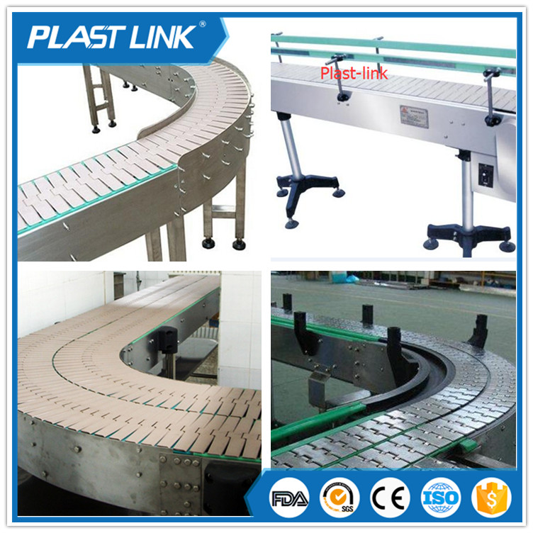 Plast Link motorcycle assembly line twin chain slat conveyor