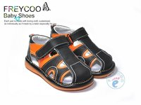 High quality toddler sandal shoes boys PB-6103BK
