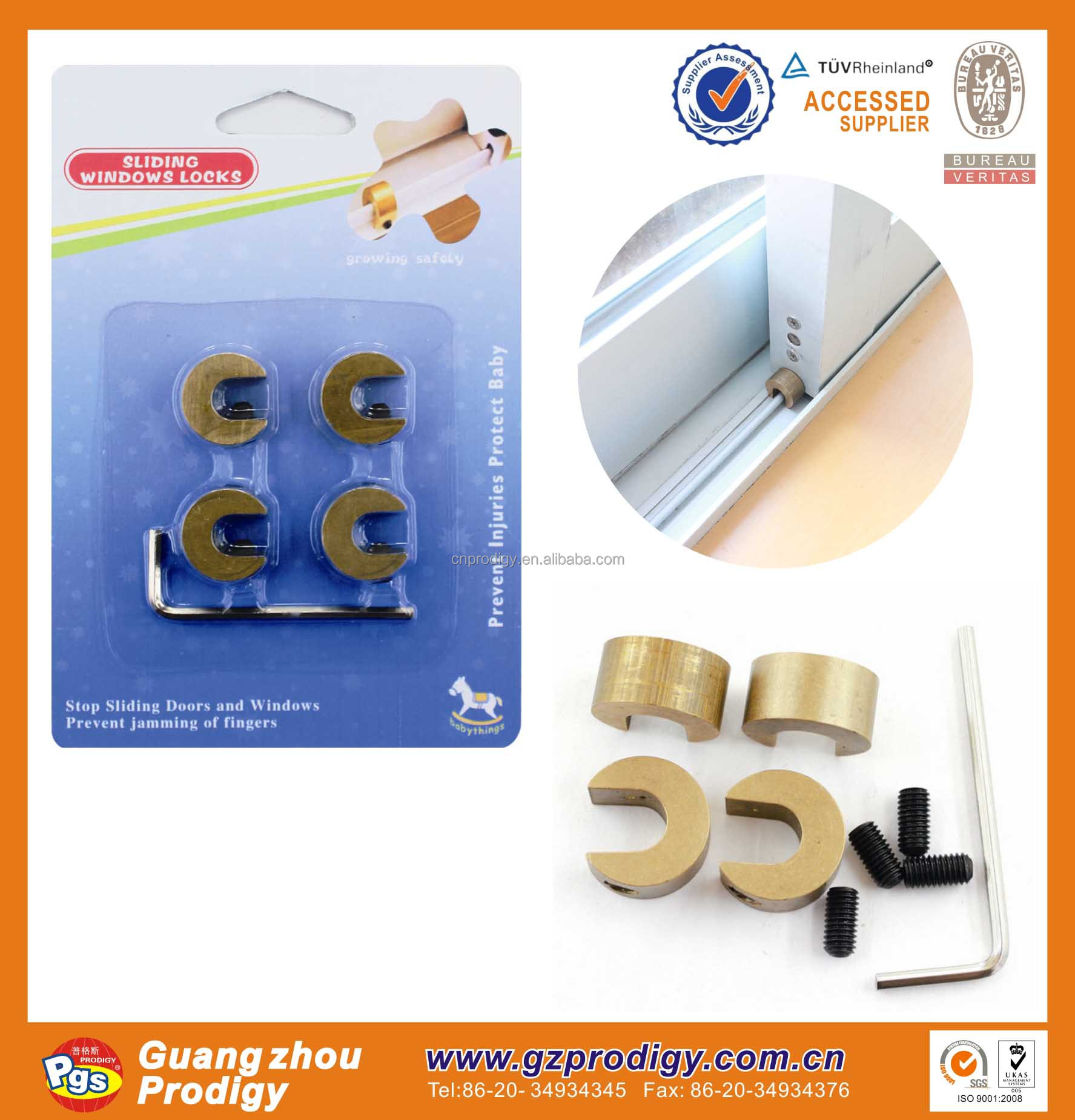 Baby safety chain lock for China /Window chain lock for baby