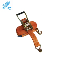 lashing equipment, safety belt 2 inch 50mm 10m mini breaking strength 5000kg lashing polyester cargo